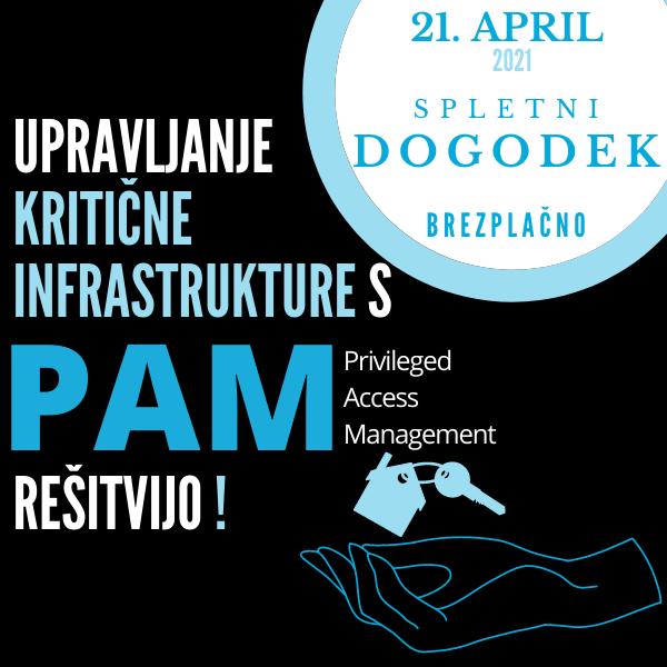 Upravljanje kritične infrastrukture s PAM rešitvijo