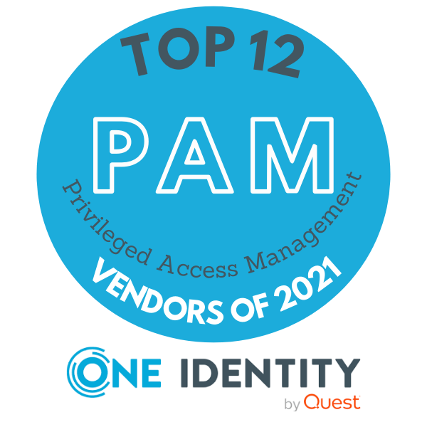One Identity Safeguard v družbi najboljših PAM ponudnikov