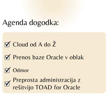 Agenda dogodka